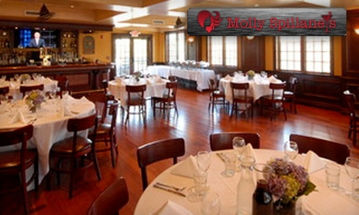 Molly Spillane's - Mamaroneck: $20 for $40 Worth of Irish Pub Dinner at Molly Spillane's (or $10 for $20 Worth of Lunch)