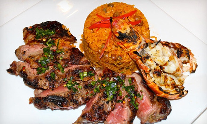 Siete Ocho Siete - Isle of San Souci: Puerto Rican Meal for Two, Four, or Six at Siete Ocho Siete in New Rochelle (Up to 62% Off)