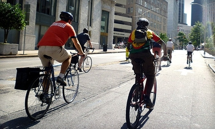 Atlanta Bicycle Coalition: Donate $5 or $20 to Help the Atlanta Bicycle Coalition Outfit Riders With Bicycle Safety Equipment, With Membership Benefits Included for $20 Donors