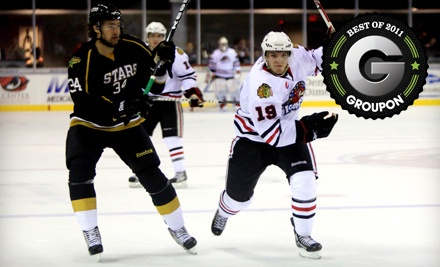 Rockford IceHogs vs. Houston Aeros or Peoria Rivermen on 3/23 or 3/30 at 7:05PM: Sections 201-207 or 218-224 - Rockford IceHogs in Rockford