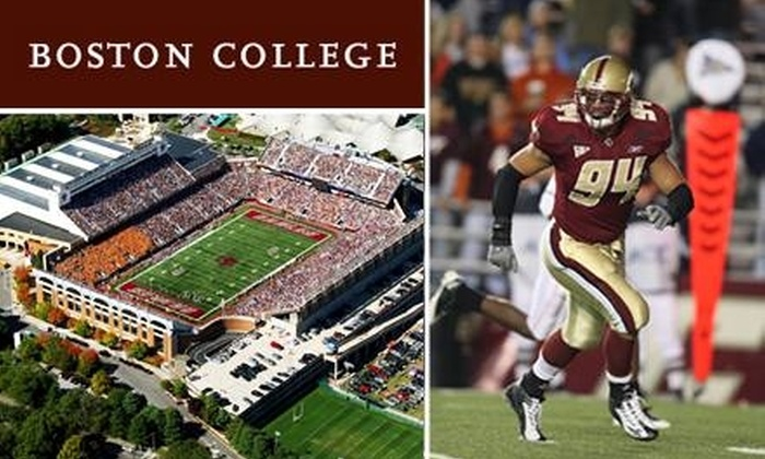 Boston College Eagles - Brighton: $10 Lower End-Zone Ticket to Boston College Eagles Football Game ($30 Value). Choose from Two Games.