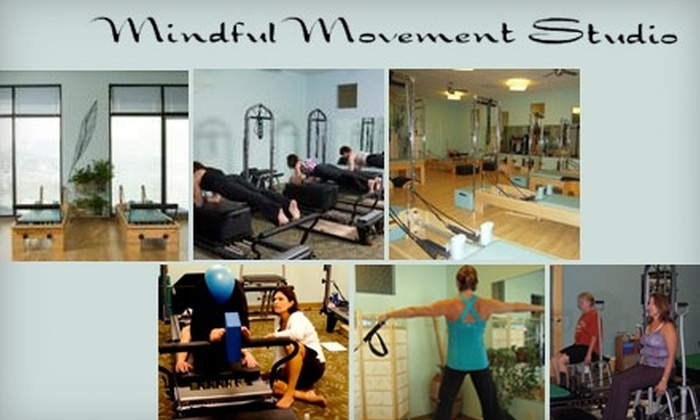 Mindful Movement Studio - Washington: Private Pilates and Introductory Pilates-Equipment Classes at Mindful Movement Studio. Choose Between Two Options.