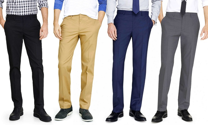 Bernardi Slim Fit Dress Pants | Groupon Goods