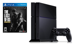 PS4 500GB Game System with The Last of Us: Remastered