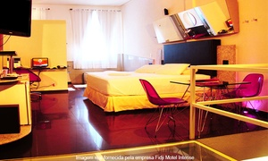 Fidji Motel Intense - Matriz: Fidji Motel Intense – 2 endereços: 4 horas na suíte Super Luxo ou Grand Luxo