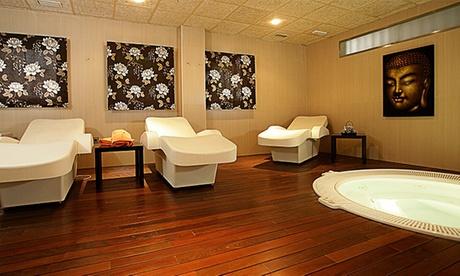 Circuito termal zen para dos personas desde 14,95€, con masaje relajante por 24,95€ y con cava y bombones por 29,95€