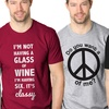 Crazy-Themed Men's Humor T-Shirts