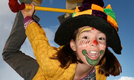 Five-Day Circus Summer Camp at Cirque Amongus (53% Off). 10 Options Available.