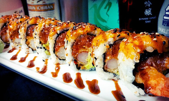 BluFin Sushi - Grosse Pointe: Sushi, Asian-Inspired Cuisine, and Drinks for Lunch or Dinner at BluFin Sushi (Half Off)