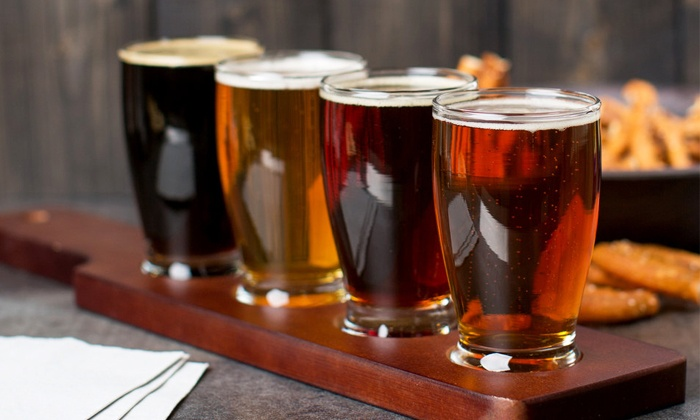Taps Craft Beers - North Decatur: Beer Flights for Two or Four with Growlers or One Growler with Five Fills at Taps Craft Beers (Up to 51% Off)
