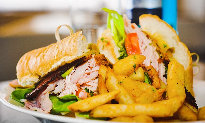 Corner 251 at The Admiral Hotel - Central Business District: Southern Bistro Food and Drinks for Two or Four at Corner 251 at The Admiral Hotel (Up to 45% Off)