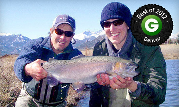 Kirk's Fly Shop - Estes Park: $79 for a Four-Hour Guided Fly-Fishing Trip for One with Kirk's Fly Shop ($165 Value)
