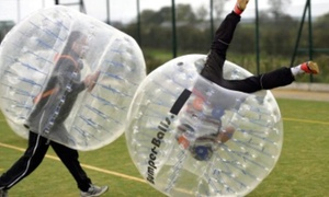 Spruce Meadows: Bubble Football For Ten for at Spruce Meadows (39% Off)