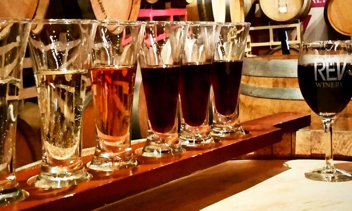 REV Winery - Covina-Valley: Wine Tasting for Two, Four, or Six at Rev Winery (Up to 53% Off)
