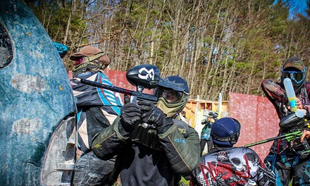 All-Day Paintball Package for Two, Four, or Six at OSG Paintball (Up to 63% Off)