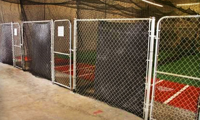 Rali Fastpitch - Foothill Green: 100 or 500 Hits in the Baseball or Softball Batting Cages at Rali Fastpitch in Littleton (Up to 56% Off)