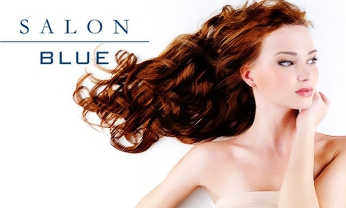 Salon Blue - Mineola: $25 Haircut and Style at Salon Blue in Mineola (Up to $65 Value)