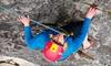 Kentucky Rock & Adventure Guides - Pine Ridge: Five-Hour Rock-Climbing Adventure for One, Two, or Four from Kentucky Rock and Adventure Guides in Pine Ridge