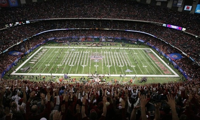Allstate Sugar Bowl: $20 for Two Team-Ticket-Reservations to the Allstate Sugar Bowl and a Subscription to Scout.com