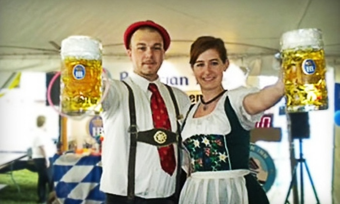 Bavarian Inn - Frankenmuth: $10 for Entry into the Bavarian Strongman Stein-Lifting Contest ($20 Value) or $4 for $8 Worth of Toys, Candy, and Gifts at Bavarian Inn in Frankenmuth