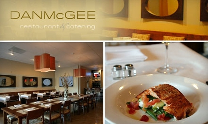 Dan McGee Restaurant - Frankfort: $25 for $50 Worth of Upscale American Cuisine and Drinks at Dan McGee Restaurant in Frankfort