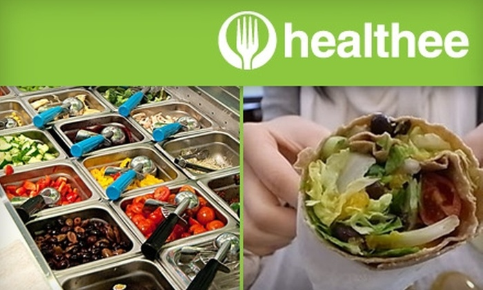 Healthee - Kerrisdale: $4 for $10 Worth of Fast, Fresh Fare at Healthee
