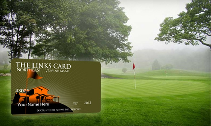 Links Card: One or Two Golf Membership Cards with One Year of Discounts to 130 Courses from Links Card (Up to 55% Off)