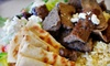 Up to Half Off Greek Fare for Two at Pita King in Escondido