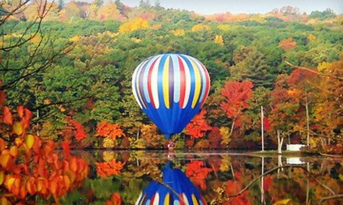 Bella Via Balloon Co. - Biotech Park Area: $159 for a Two-Person Hot Air Balloon Experience at Bella Via Balloon Co. ($500 Value)