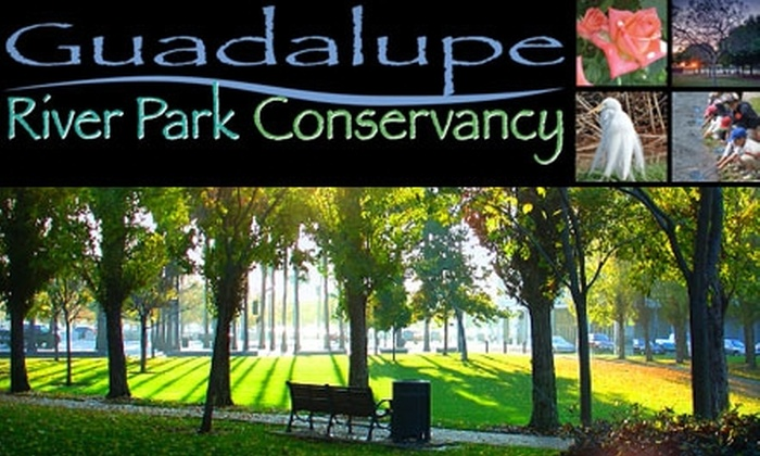 Guadalupe River Park Conservancy - Central San Jose: $13 for a One-Year Membership to the Guadalupe River Park Conservancy ($35 Value)