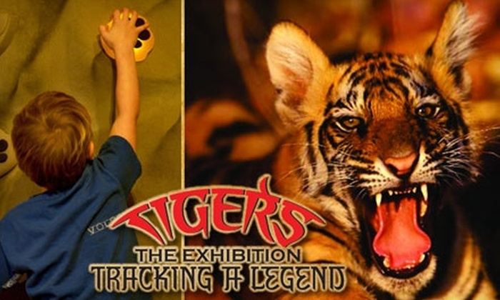 """Tigers: Tracking a Legend""  - Park Slope: Adult and Child Admissions to ""Tigers: Tracking a Legend"" Exhibition (Up to $56 Value). Choose Between Two Options."