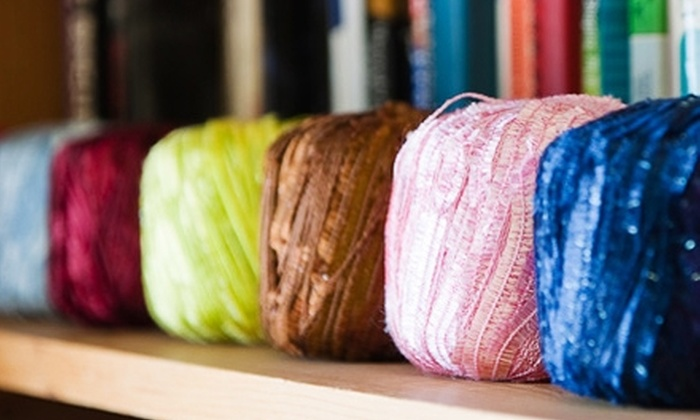 L & B Yarn Co. - Norman: $15 for $30 Worth of Knitting Supplies, Classes, and More at L & B Yarn Co. in Norman