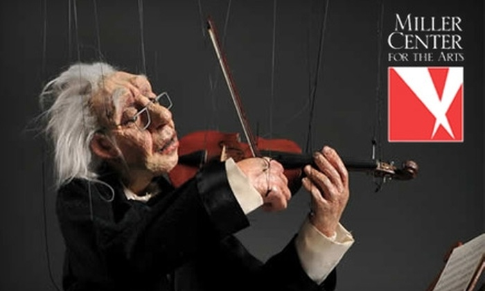 Miller Center for the Arts - Reading: $5 ticket to Cashore Marionettes at the Miller Center for the Arts