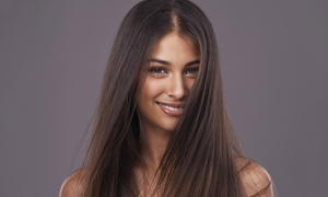 Chick Salon: Style with Brazilian Blowout or Partial Highlights at Chick Salon (50% Off)