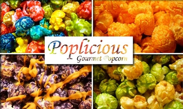 Poplicious Gourmet Popcorn - Tampa Bay Area: $15 for $30 Worth of Popcorn and Treats from Poplicious Gourmet Popcorn