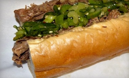Pop's Italian Beef & Sausage at 7153 W 127th St. in Palos Heights - Pop's Italian Beef & Sausage in