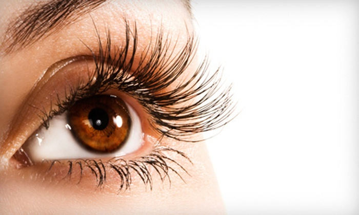 Extensions by Khema - Polaris: Full Set of Eyelash Extensions with Optional Touchup Service at Extensions by Khema (Up to 56% Off)
