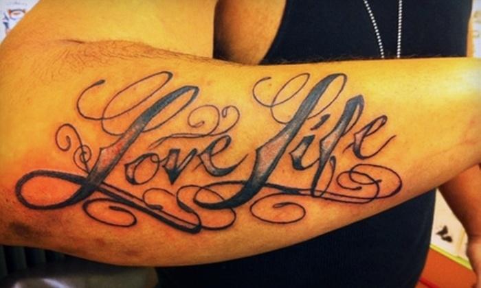 Angel Ink Tattoo - Citizen Involvement Committee: $60 for One Hour of Tattoo Work at Angel Ink Tattoo in Oregon City ($125 Value)