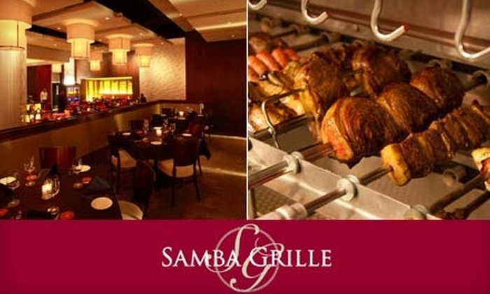 Samba Grille - Downtown: $35 for $75 Worth of South American Dinner Fare and Steaks at Samba Grille (or $15 for $35 Worth of Lunch)