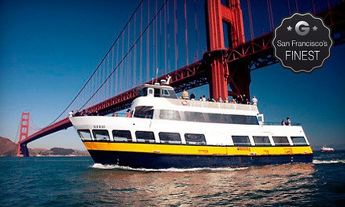 Blue & Gold Fleet - The Embarcadero at Beach Street: $13 for a One-Hour Bay Cruise from Blue & Gold Fleet (Up to $25 Value)