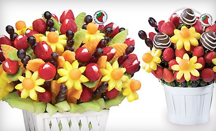 $50 Worth of Fruit Bouquets - FruitFlowers: Incredibly Edible Delites in Brooklyn