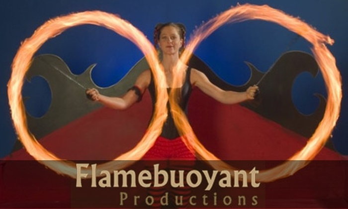 Flamebuoyant Productions - Buckman: $10 for an Introductory Fire-Dance Lesson from Flamebuoyant Productions ($20 Value)