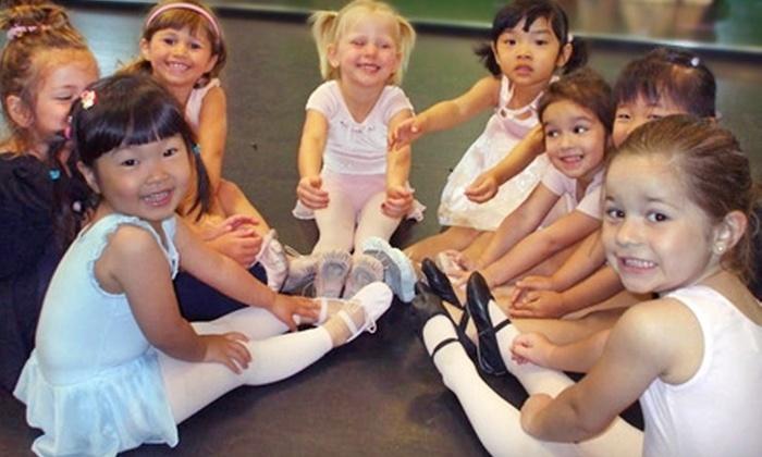 Tricks Gymnastics, Dance, and Swim - Multiple Locations: Gymnastics and Dance Classes at Tricks Gymnastics, Dance, and Swim. Four Options Available.