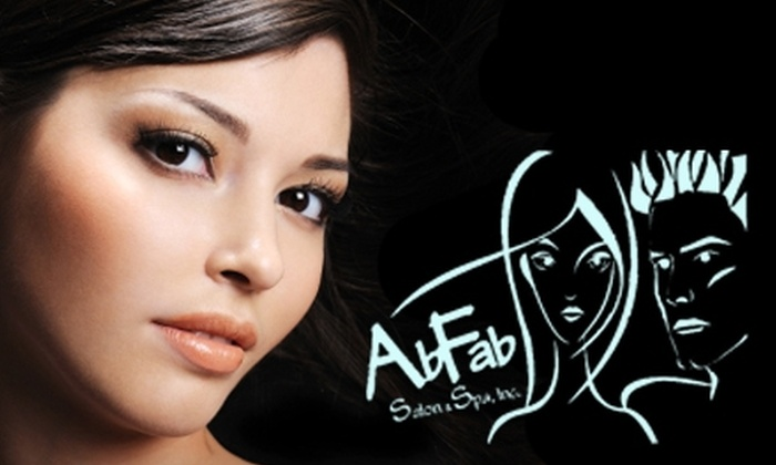 AbFab Salon and Spa - Rockford: $50 for $100 Worth of Services at AbFab Salon and Spa