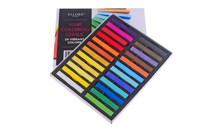 2 Pack With 48 Sticks: Ellore Femme Hair Chalk