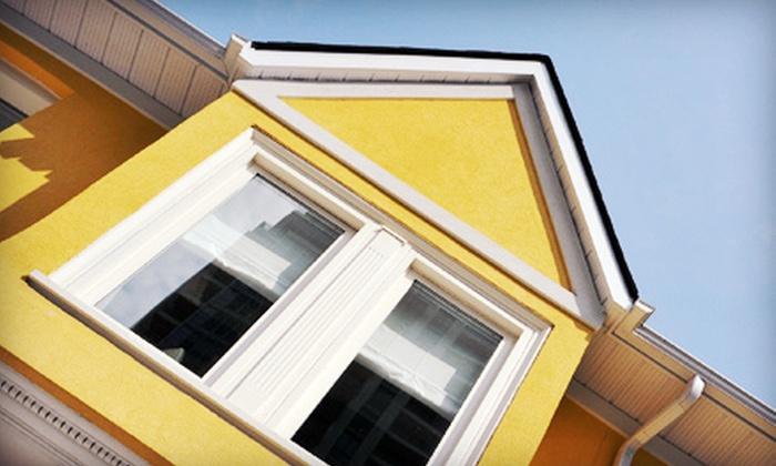 Mr. Squeaky Clean - Roanoke: Exterior Window-Cleaning Services for Up to 10 or 20 First-Story Windows from Mr. Squeaky Clean (Up to 72% Off)
