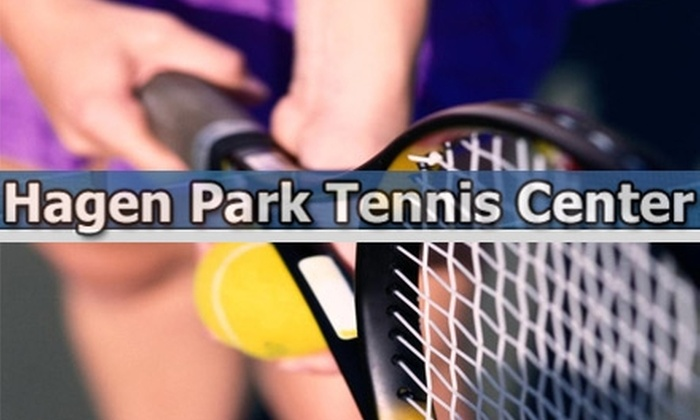 Hagen Park Tennis Center - Wilton Manors: $49 for Eight 60-Minute Fit-Tennis Boot Camp Classes at Hagen Park Tennis Center ($120 Value)