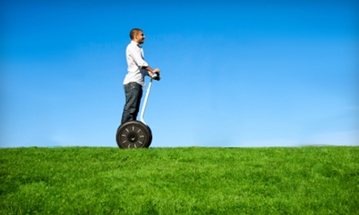 My Seg Adventures - Plymouth: $25 for a Self-Guided Segway Tour from My Seg Adventures in Plymouth (Up to $80 Value)