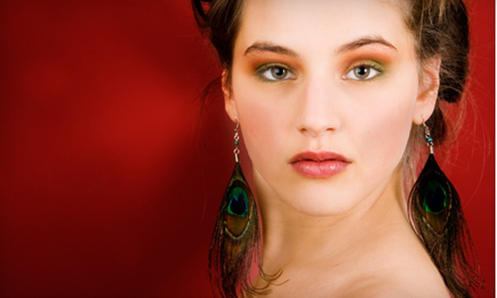 Feather Fashinista: One or Two Pairs of Authentic Peacock Feather Earrings from Feather Fashinista (Up to 60% Off)