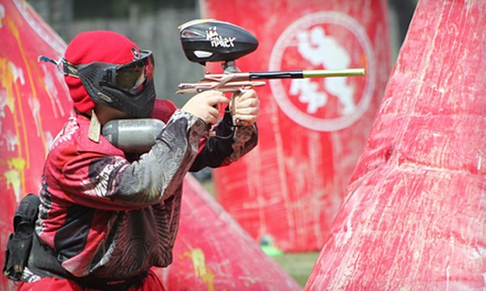 Long Live Paintball - Old Bridge: Full-Day Paintball Outing for One, Two, or Four with Gear and Ammunition at Long Live Paintball (Up to 65% Off)